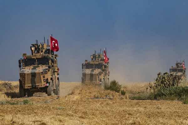 دومین گشت زنی نظامیان ترکیه و روسیه در خاک سوریه