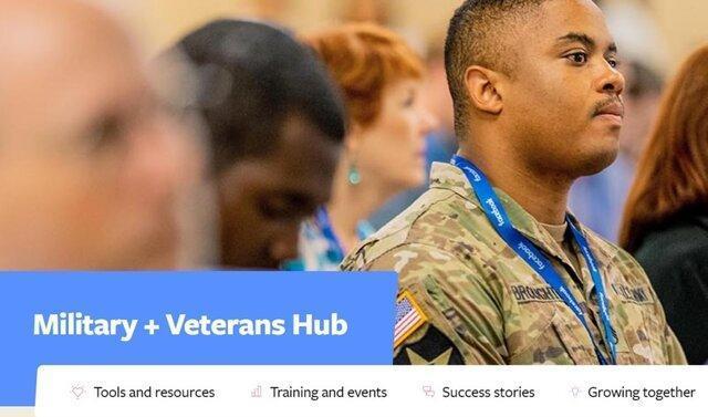 یاری فیسبوک به کهنه سربازان آمریکایی برای مهندس شدن!