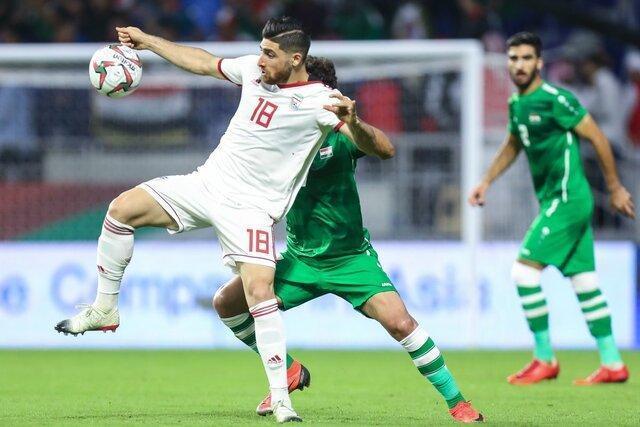 تیم ملی عراق مقابل ایران بازی نمی کند!