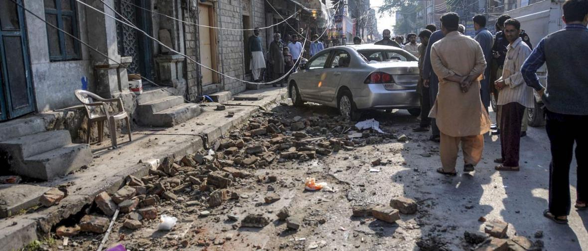 آخرین خبر از زلزله پاکستان: صدها کشته و هزاران مجروح و بی خانمان