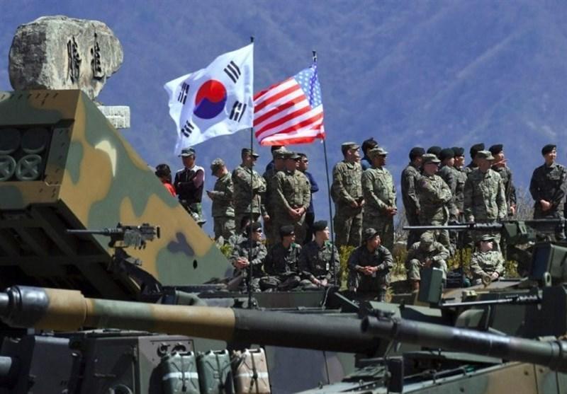 تنش موردعلاقه کره شمالی در اتحاد نظامی آمریکا کره جنوبی