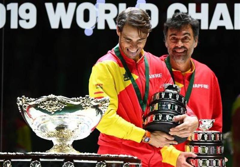 اسپانیا فاتح رقابت های تنیس جام دیویس شد، نادال ارزشمندترین بازیکن لقب گرفت