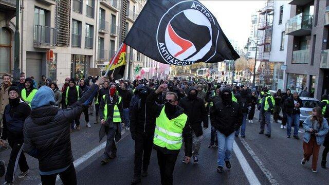 اعتراضات جلیقه زردهای بلژیکی در حمایت از جلیقه زردهای فرانسه