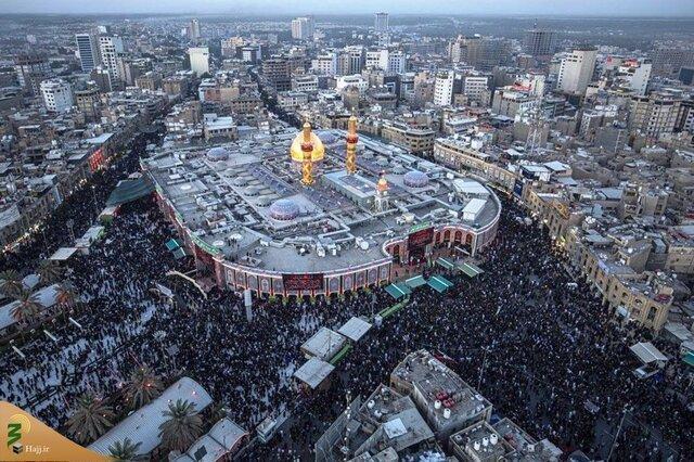 14 میلیون نفر در پیاده روی اربعین شرکت کردند