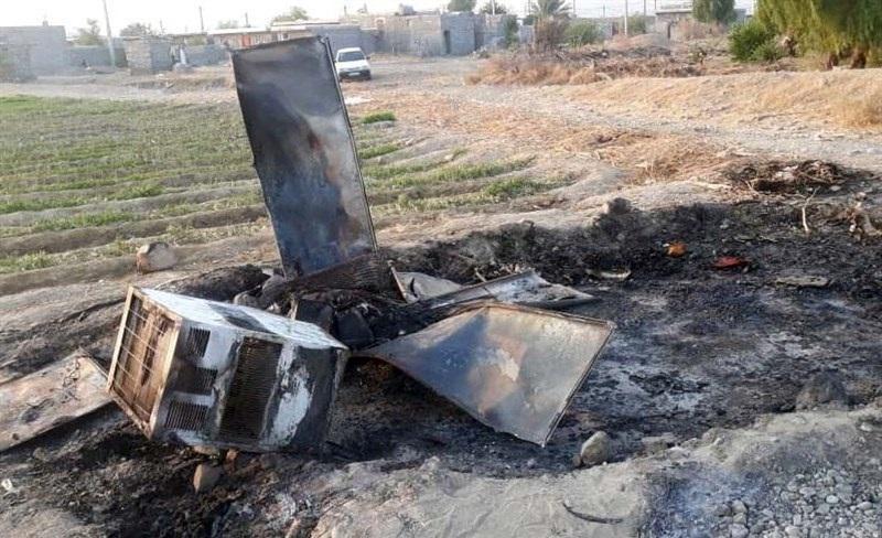 آتش سوزی 8 منزل کپری در توکهور و هشتبندی