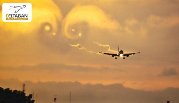پدیده توربولانس یا چاله هوایی در پرواز