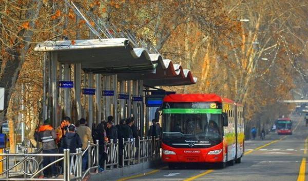تهرانی ها چگونه از زمان بندی حرکت اتوبوس ها مطلع شوند؟